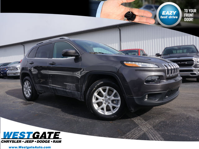 pre-owned 2016 jeep cherokee latitude 4d sport utility in plainfield