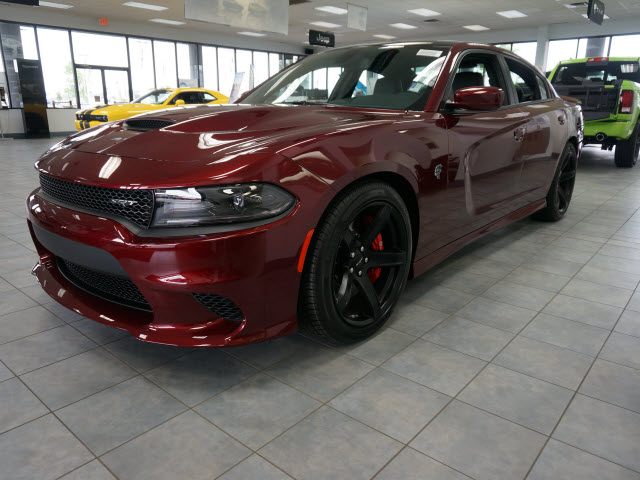 New 2017 Dodge Charger Srt Hellcat 4d Sedan In Plainfield