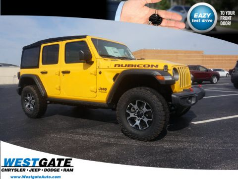 New 2019 JEEP Wrangler Unlimited Rubicon